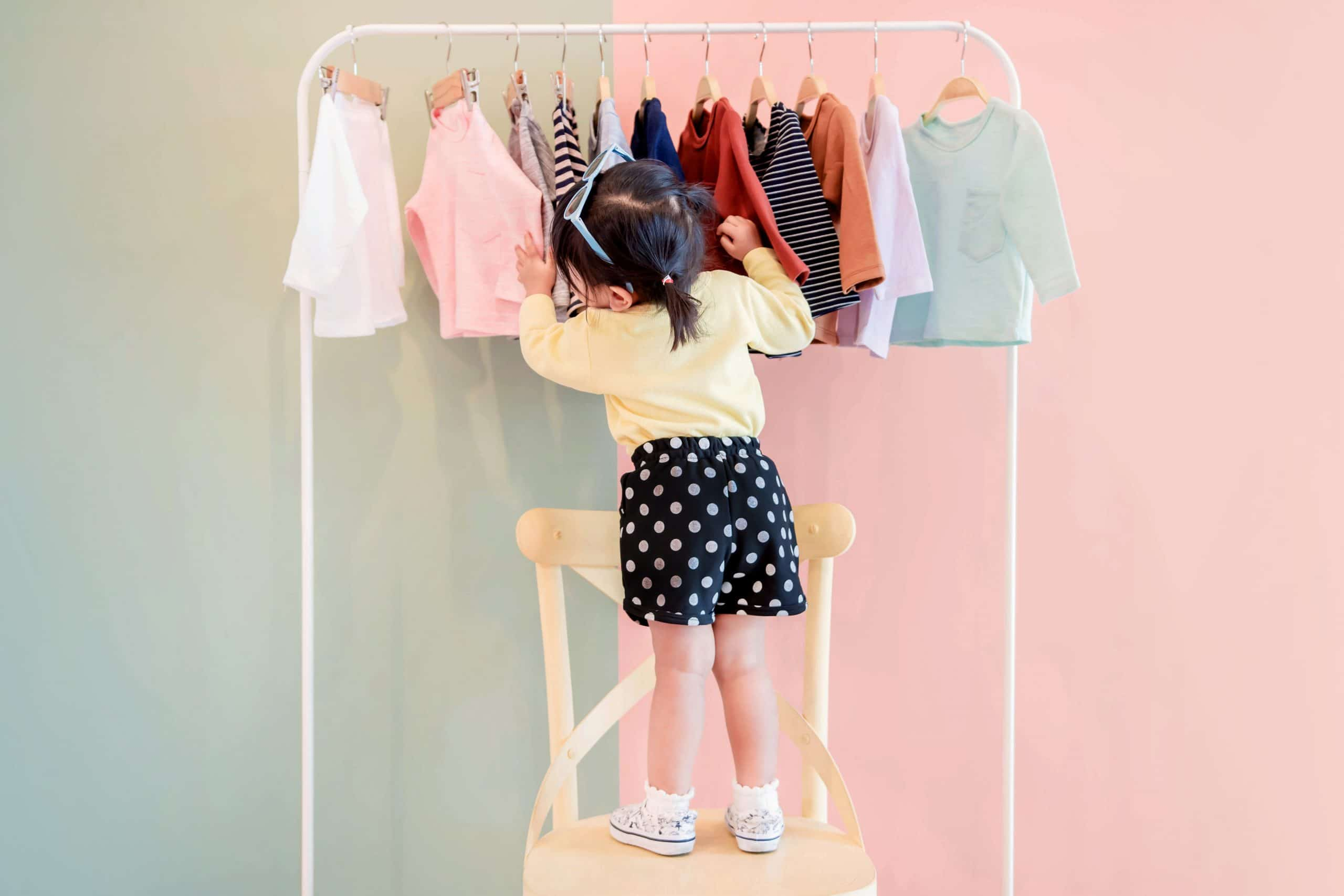 styles de robes imprimées pour petite fille