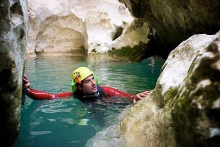 canyoning dans les gorges du Tarn